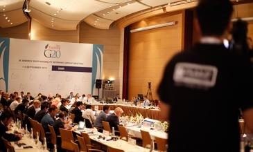 G20 Zirvesi Canlı Yayın Çekimi