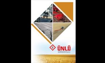ünlü tarım kurumsal katalog tasarımı